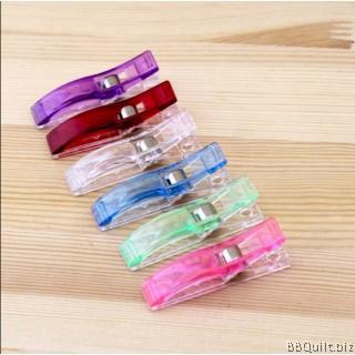 Quilting Clips PVC Plastic Clips 5.5*1CM 10/50pcs