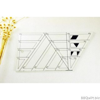 Lazy Angle Ruler|Trapezoid Ruler|Patchwork Ruler/Templates