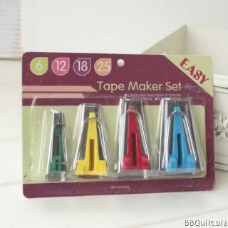 Bias Tape Maker Set|6/12/18/25mm
