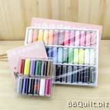 Sewing Thread Set 12/39 Assorted Colours Thread Spool