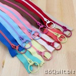 #3 Candy tone colour ring puller zippers|4size 10color|15/20/30/40cm