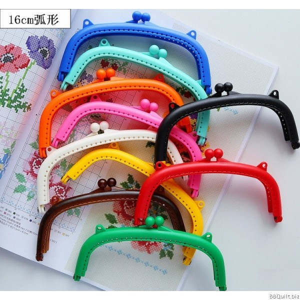 Curved Sew-in Candy colour Purse Frames|8.5/16cm|10Colours