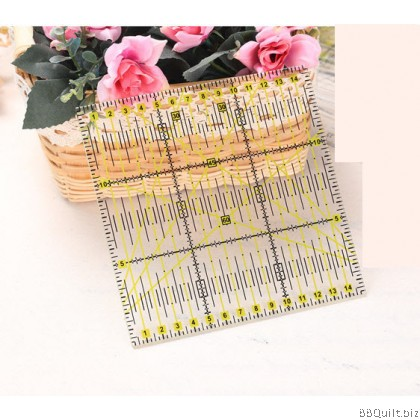 15cm Square Quilting Patchwork Ruler