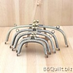 Sew-in Patterned|Antique Bronze|Curved Round Purse Frame|5 size