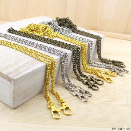 Purse Chain|DOUBLE-LINK Chain|Antique Bronze & Silver|2 sizes