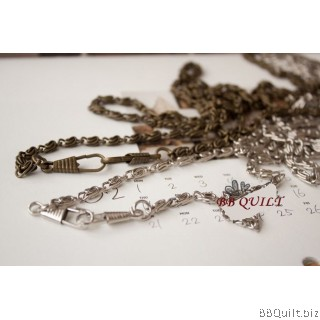 Purse Chain|ROPE CHAIN|Antique Bronze & Silver|2 sizes