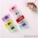 Sewing and Quilting Binding Clips|PVC Plastic Clips|2.7*1CM