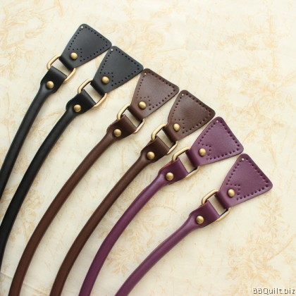 Real leather handles|Sew-in Shoulder Bag Strap|2 colours|54.5cm*1.5