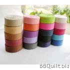 20mm width|Polyester-cotton Canvas Webbing|Bag Straps|11 colours