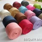 32mm width|Polyester-cotton Canvas Webbing|Bag Straps|9 colours