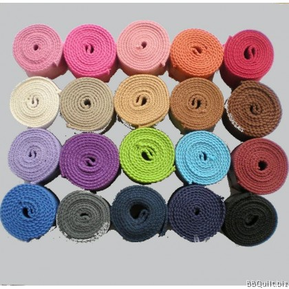 32mm width|Polyester-cotton Canvas Webbing|Bag Straps|13 colours