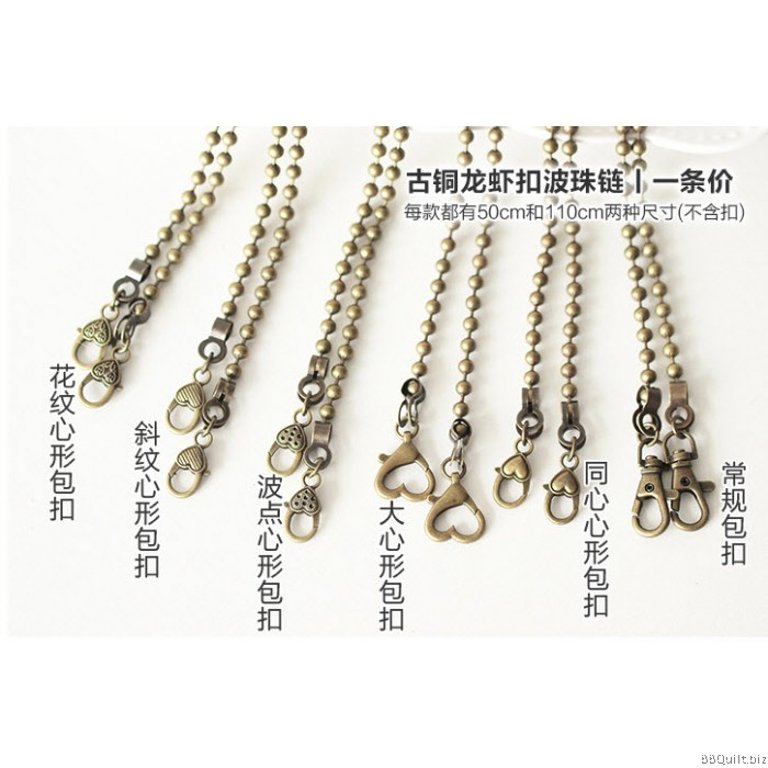 wholesale chains free lead p ball unwelded ab bead nickel iron