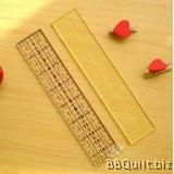 15*3cm Patchwork Ruler|2 colours