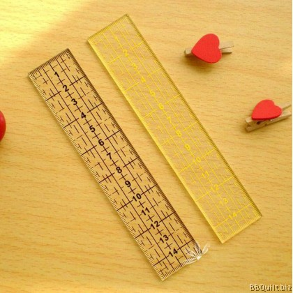 15*3cm Patchwork Ruler|2 colours