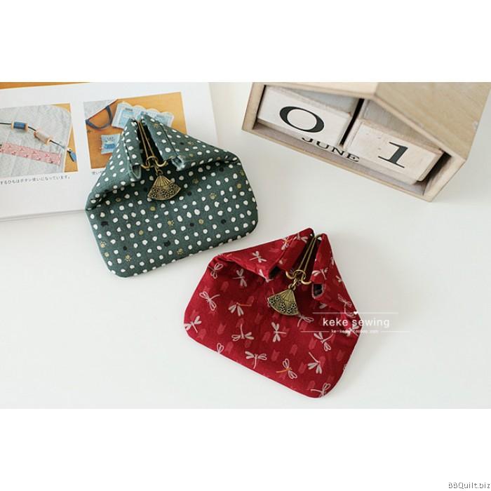 Onigiri Coin Purse Frame|Unique Purse Frames|Sakura fans Clasp ...