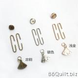 Onigiri Coin Purse Frame|Unique Purse Frames|Sakura fans Clasp|Antique Bronze