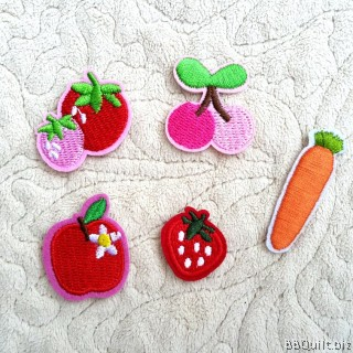 Fruits Embroidery Applique Patch Sew Iron Badge