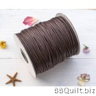 2.5mm Brown Waxed cord|Waxed string|Waxed twine