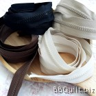4 Natural colours #5 Molded Plastic Continuous Zipper Chain|Zipper by the Yard