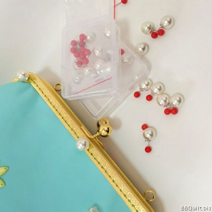 Upgraded Version Purse Frames Locating Pin|Position Pin|Pearl & Red colour