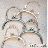 16.5cm Sew-in Patterned|Purse Clasp|Curved Round Purse Frame With Handle