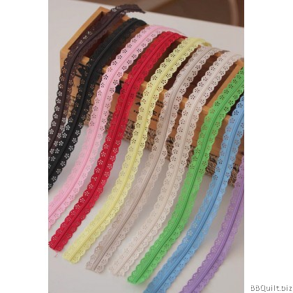 #3 Nylon coil Lace Continuous Zipper Chain|Zipper by the Yard 10 colours