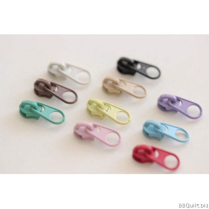#3 Metal zip sliders|Short Pull Puller 10 Colours 5x