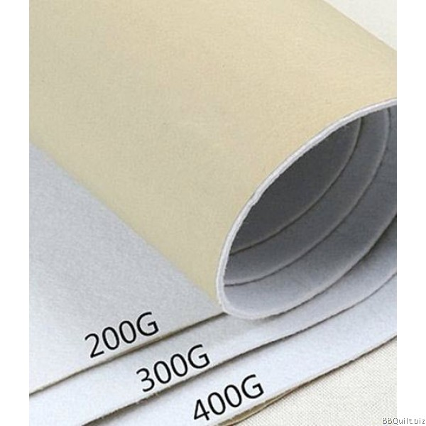 200g/300g/400g Self Adhesive Batting|Compressed type