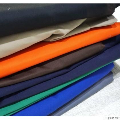 Plain 100% Cotton Drill Fabric|8 colours