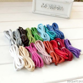 3mm PU Stitched Faux Leather Round Cord Rope Thread String