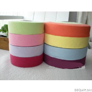 Plain Yarn Dyed Bias Tape|Binding Tape|8 Candy Colours