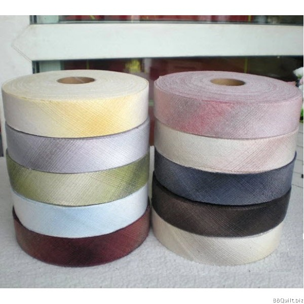 Gingham Collection-A Yarn Dyed Bias Tape Binding Tape 10 Colours