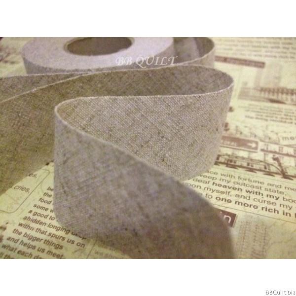 Plain Cotton Linen Bias Tape|Binding Tape