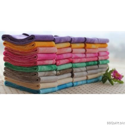 Tie Dye Cotton Bias Tape|Binding Tape|10 colours
