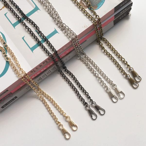 Purse Chain|Light Curb Chain|Antique Brass|120cm