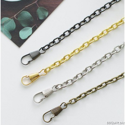 Purse Chain|Anchor Chain|Antique Brass|120cm