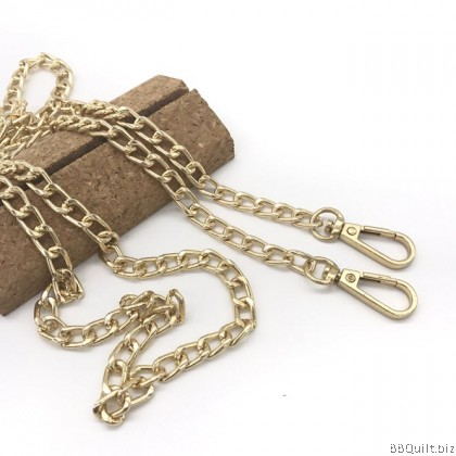 Purse Chain|Large Thick Curb Chain|2 Colours 120cm