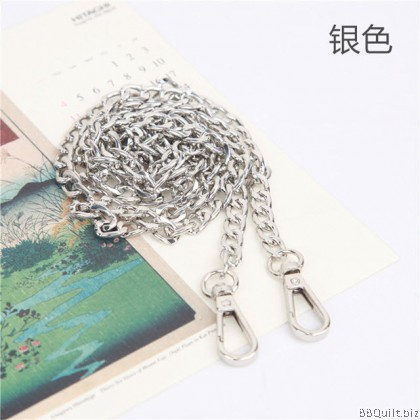 Purse Chain Large Thick Curb Chain 3 Colours 120cm
