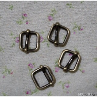 "0.5"" Rectangle Slider in Antique Bronze (12mm)"
