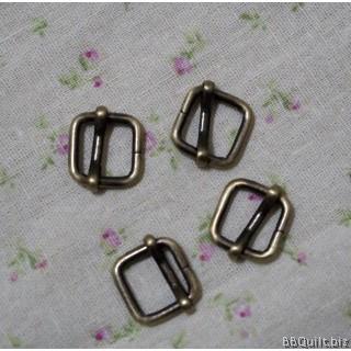 "0.5"" Rectangle Slider in Antique Bronze (12mm)"