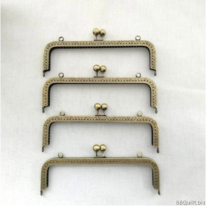 Special offer 20.5cm Rectangular Purse Frame Gamaguchi bag Clasps