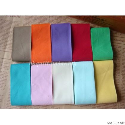Cotton Bias Tape|Bias Binding|10 Colours