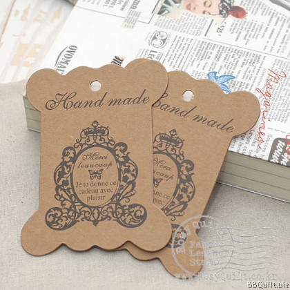 4x Paper Thread Card|Cardboard Bobine|Merci Beaucoup