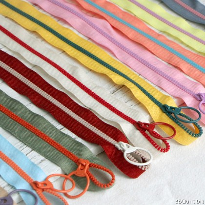 #3 Lollipop Zipper|Zipper by the meter|Half size|15 colours