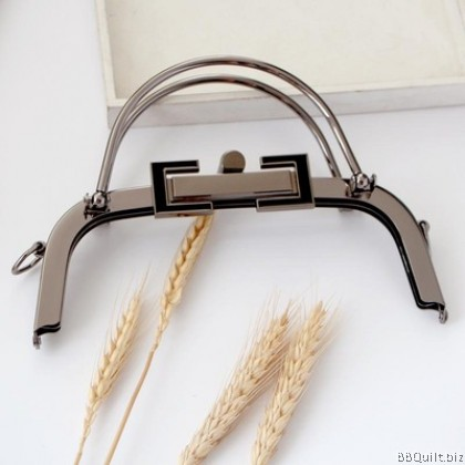 20.5cm Ball Buckle Closures|Curve Purse Frame with Handle|2 Colours