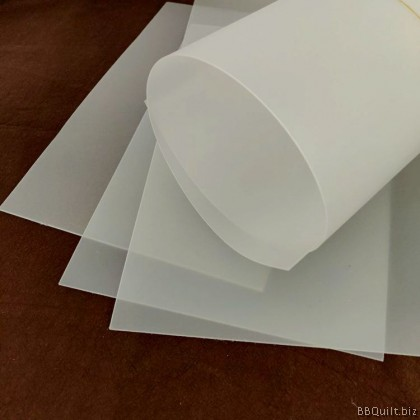 DIY Craft Supplies|Frosted PP Sheet Bag Base Shaper|3 Sizes