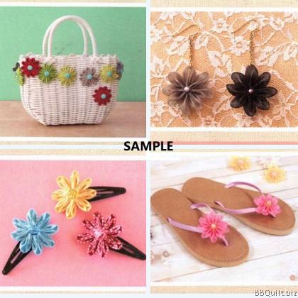 Pointed Petal Kanzashi Flower Maker Yo-Yo Makers